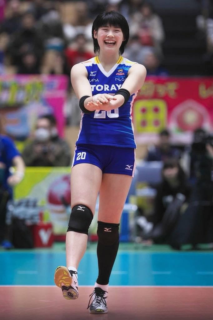 Pin By Andre Davis On Toray Arrows Women Volleyball Volleyball Players Volleyball