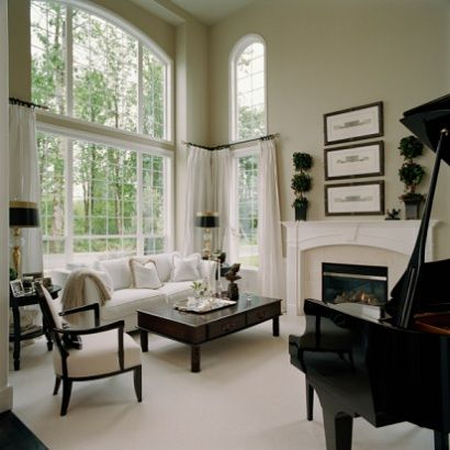 Custom Window Treatments for Bow Windows
