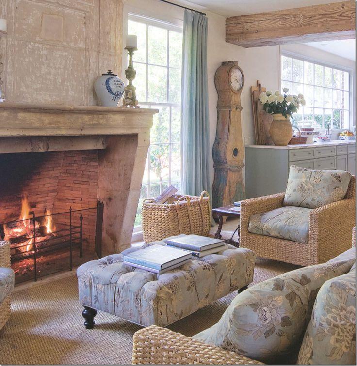 Interior Designer Carol Glassers Houston Home Photograph By Fran Brennan More Details Via Cote De Texas