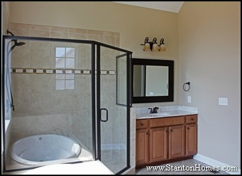His and hers bathroom wall decor as well master bedroom with bathroom