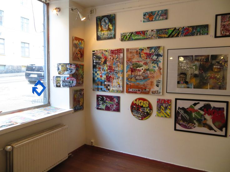 Art from Charles Liquor at Geezers the shop, Helsinki Finland. #suomitaide #art #artfinland