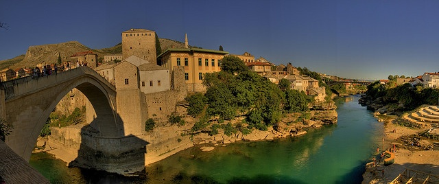 Mostar (BiH) by Panoramyx, via Flickr http://www.lonelyplanet.com/bosnia-and-hercegovina/sights/castle/mostars-old-bridge
