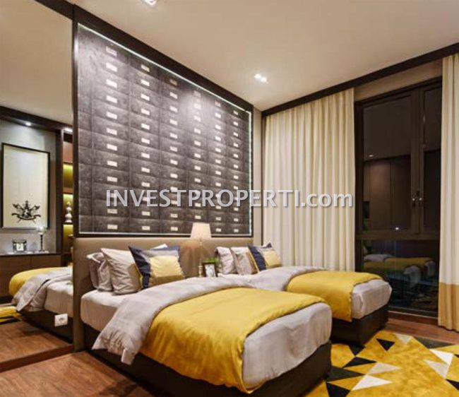 Design interior bedroom Lakewood NavaPark BSD