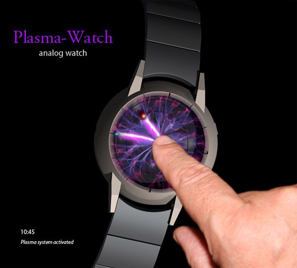 Plasma Ball Watch. Tokyoflash. I love unique watches