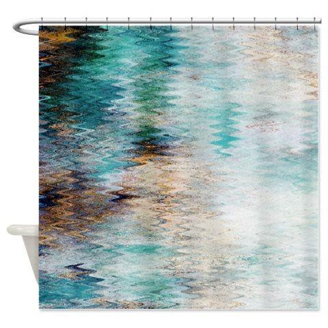 Shower Curtain Bathroom Decor Bath Curtain Abstract