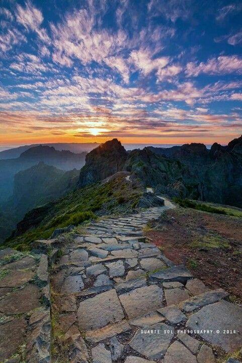Pico de Arieiro, Madeira Island, Portugal