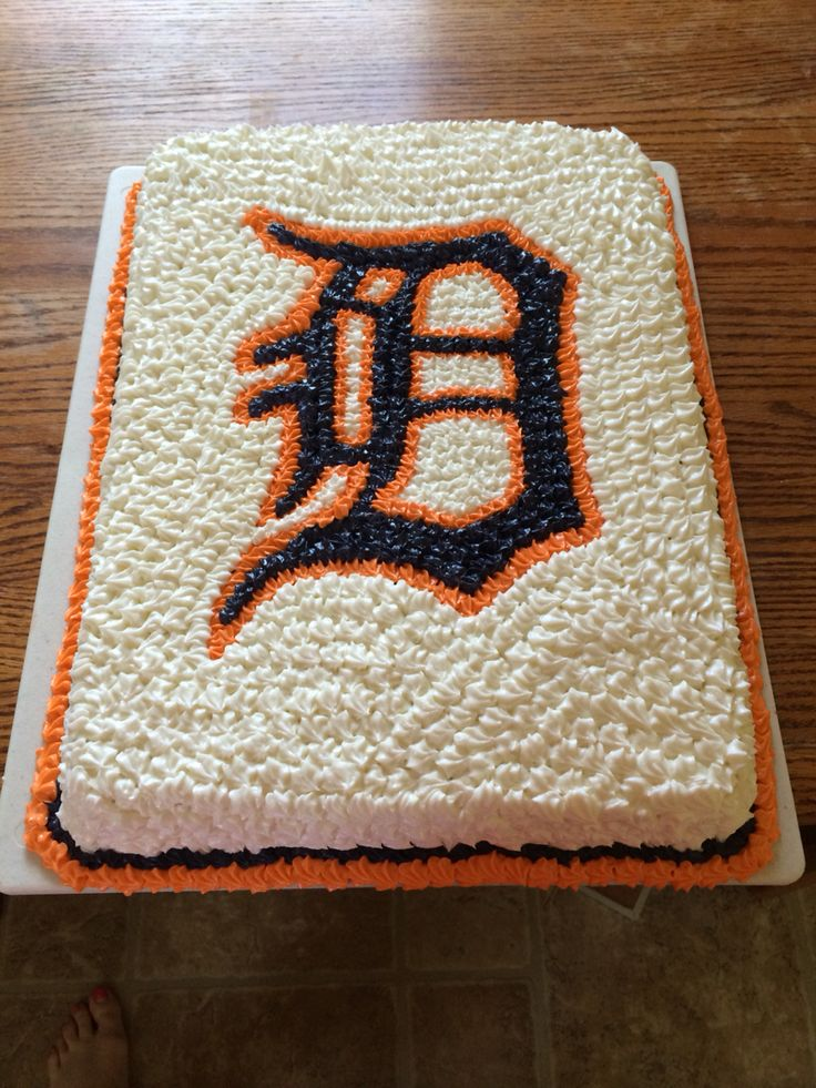 Detroit Tigers #Cakes&MoreByHeidiKehl