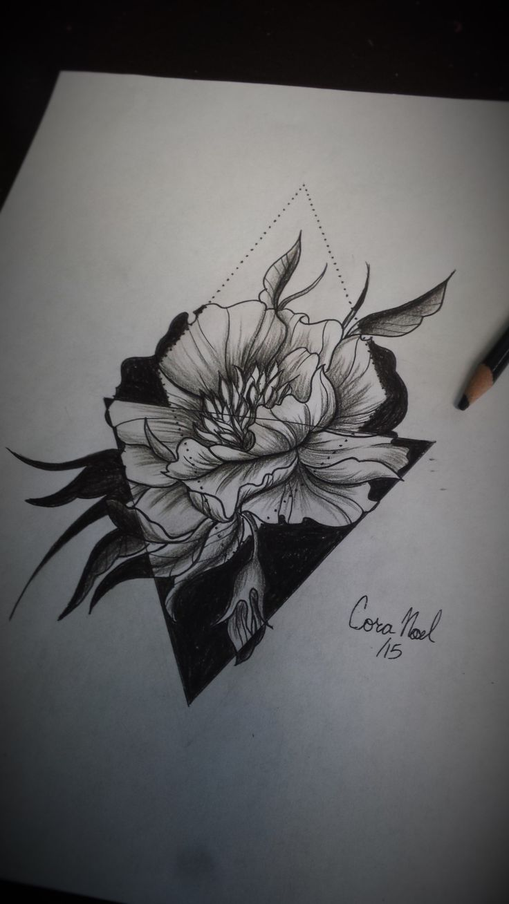 Peony by Cora Lee at shambhala tattoo
