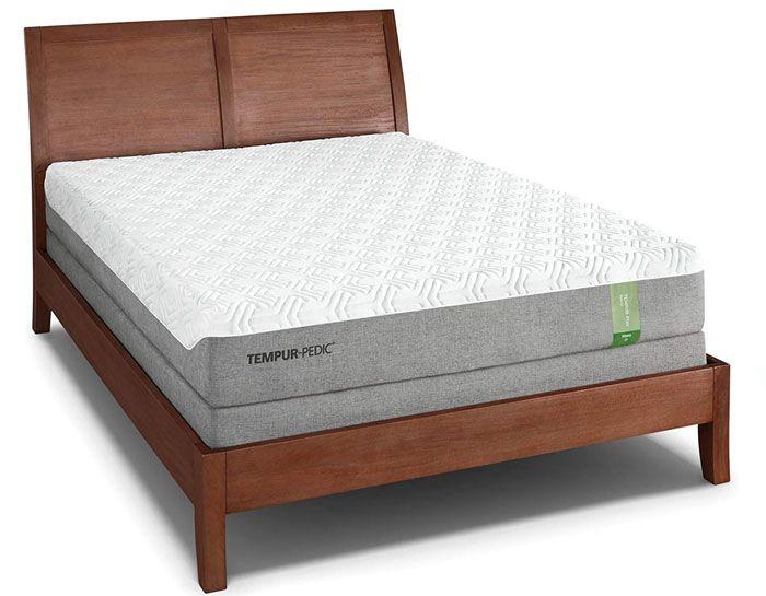 Tempur Flex Hybrid Prima Medium On Bed Frame Mattress Tempurpedic Mattress Mattress Price