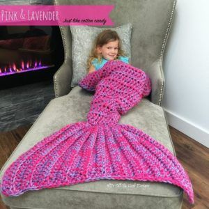 Mermaid Crochet Tail Blanket Free Patterns