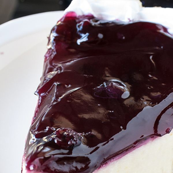 Blueberry Glaze Cheesecake