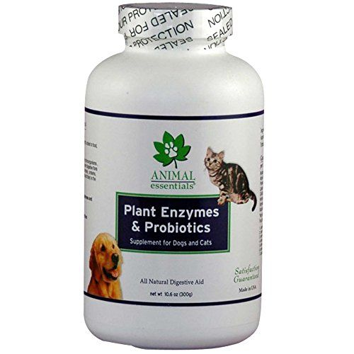Animal Essentials Plant Enzyme & Probiotics Supplement for Dogs & Cats, oz