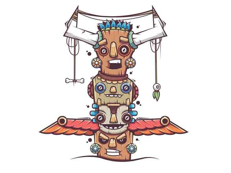 Totems on Behance