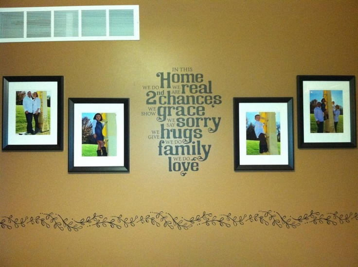 66 best Photo Grouping/Photo Wall Ideas images on Pinterest | Home ...