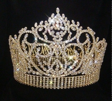 beauty pageant crowns and scepters | ... Tiaras & Crowns :: Tiaras & Crowns over 4 inches :: Beauty Pageant