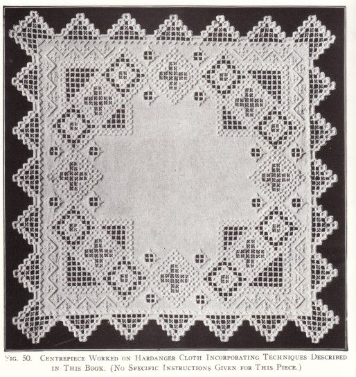 On my Flea Market Finds post this week I mentioned a Hardanger Embroidery book and someone asked what that was. The name comes from the re...