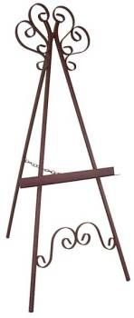 #EASEL-1 Marseilles Wrought Iron Painting Display Easel