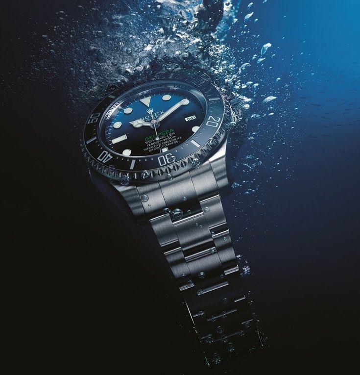 Rolex Deepsea Sea Dweller D Blue Dial Watch Is Tribute To James Cameron Deepsea Challenge 3D Movie