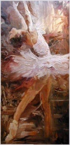 """""""In Flight"""" by Scott Mattlin Oil ~ 22"""" x 10"""""""