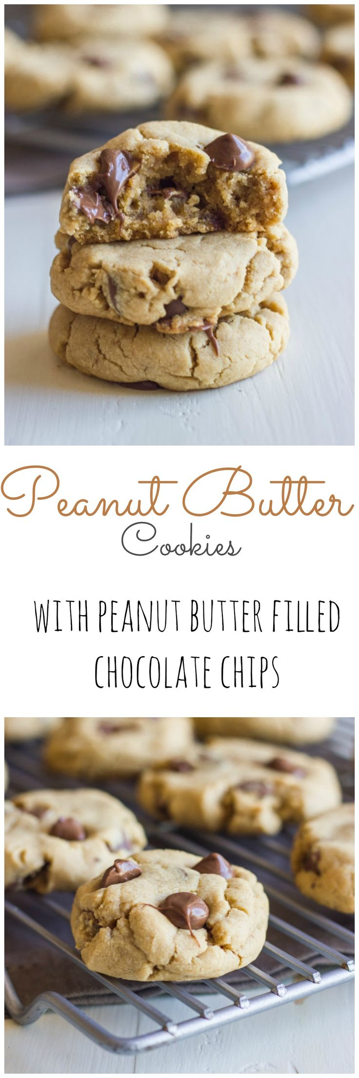 The ULTIMATE peanut butter lover's cookie.  Made with coconut oil!