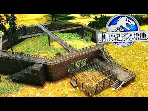 awesome Ark Survival Evolved - JURASSIC WORLD RAPTOR PADDOCK - (EP6 Ark Modded)
