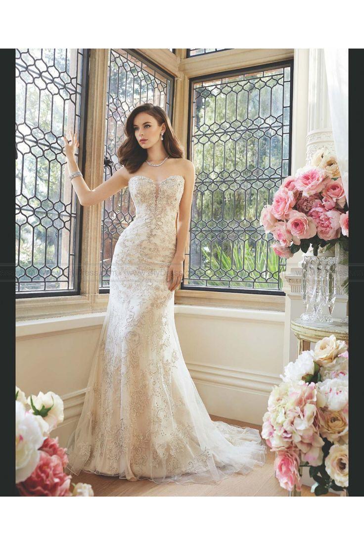 25 best Sophia Tolli wedding dresses 2016 images on Pinterest ...