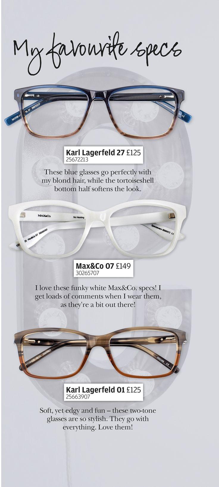 Discover Emma Bunton's favourite glasses.