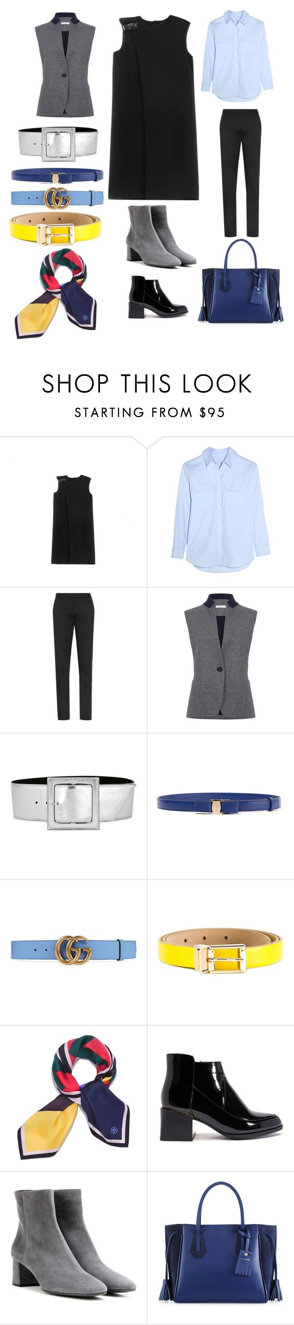 """Capsula For Tanya"" by helenkraft17 on Polyvore featuring мода, Equipment, Atea Oceanie, Yves Saint Laurent, Salvatore Ferragamo, Gucci, Dolce&Gabbana, Tory Burch, Prada и Longchamp"