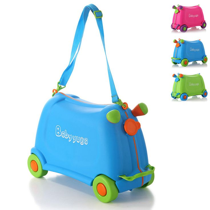 Good Quality Children Travel Luggage Portable Storage Box Travel Suitcase Baby Toys Travel Bag With Wheels