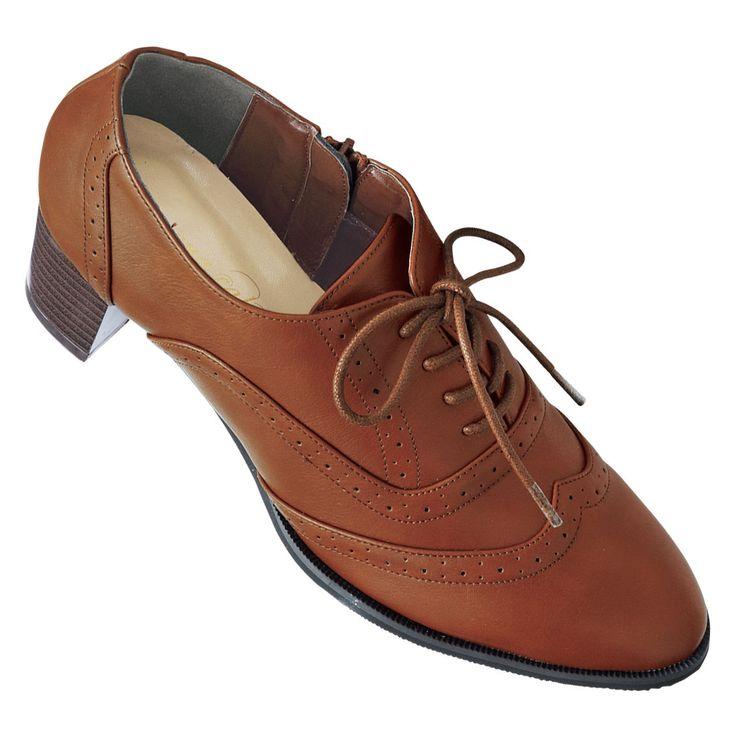 オックスフォードパンプス(低反発中敷)(ワイズ4E) 通販 【ニッセン】 婦人靴・靴(シューズ) ブーツ・ブーティ ブーティ