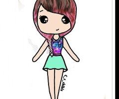 Two Chibi People Www Picturesso Com