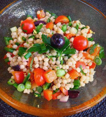 Pearl couscous, Pearl couscous salad and Couscous salad on Pinterest