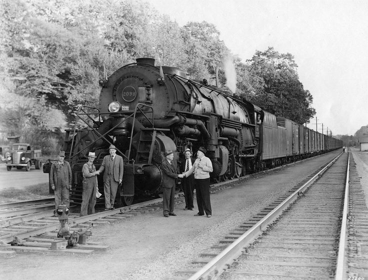 It's time for Throwback Thursday! ‪#‎TBT‬ The Norfolk and Western Railway ran through Bassett, Virginia, on its way from Winston-Salem, North Carolina, to Roanoke. J.D. Bassett, Sr., sold the N&W wood from his land for bridge timbers and railroad ties. Bassett's sawmill cut lumber for casket companies and furniture manufacturers; eventually, he founded the famous furniture factory pictured in this 1932 image (advertising signs painted on the buildings promoted bedroom and dining room…