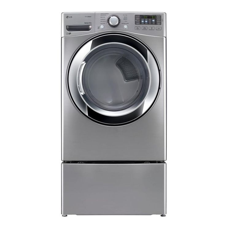 Product Overview  Efficiency can mean a lot nowadays, and this ENERGY STAR qualified 7.4 cu. ft. Electric Dryer with steam provides superior performance. Featured in a sleek graphite steel finish, its ultra-large capacity handles extra-large loads, so you finish your laundry faster. The intelligen