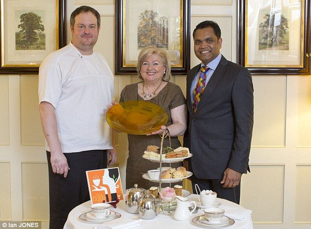 The Montagu Arms is awarded 'Top City & Country Hotel Award' by the UK Tea Council. The most prestigious award in the #tea world.