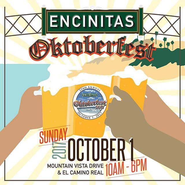 If you're planning on attending the @encinitas_oktoberfest this Sunday, be sure to look for our booth and try our beer. Cheers! #sandiego #sandiegoconnection #sdlocals #sandiegolocals - posted by Resident Brewing Company https://www.instagram.com/residentbrewing. See more San Diego Beer at http://sdconnection.com