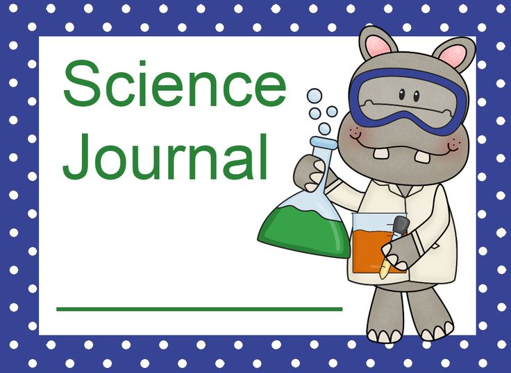 FREE! Science Journal Labels