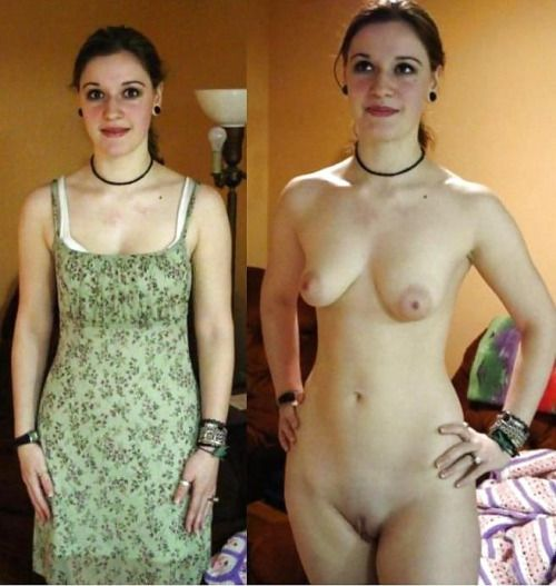 Natural wife before after nude