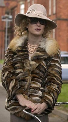 Breakfast on Pluto. The character of Kitten found an escape in edgy fashions. Great wardrobe pieces in here with a lot of glam rock influences and the occasional homage to old Hollywood glamor.  Eimer Ni Mhaoldomhnaigh received a well deserved nomination for Best Costume Design from the Irish Film and Television Awards.