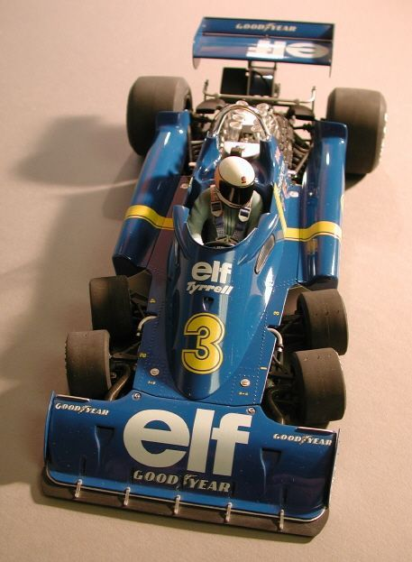 6 wheel tyrell F1 car from 1976 I had a model similar to this loved the 6 wheeler!
