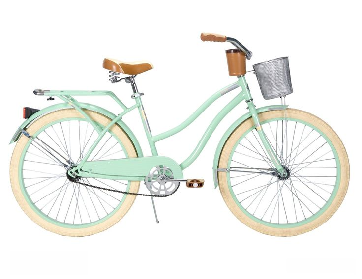 Amazon.com: Huffy Womens Deluxe Cruiser Bike, Mint Green, 26-Inch/Medium: Sports & Outdoors. This is so beautiful, I love it!!!!