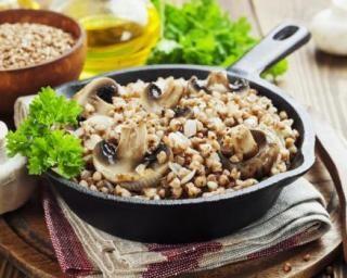 Poêlée de sarrasin rassasiante aux champignons   – Recettes