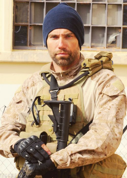 Anson Mount as Cherry in Seal Team Six: The Raid on Osama bin Laden. Can he be any more handsome!!