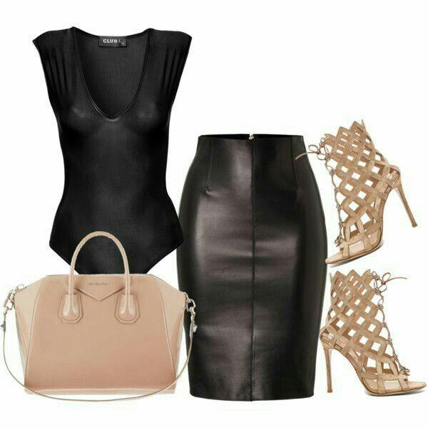 Este #viernes elige utilizar una #falda de tubo en tu #outfit. ¡Lucirás sensacional! #OutfitConFalda #OutfitParaViernes #OutfitIdeas #Streetstyle