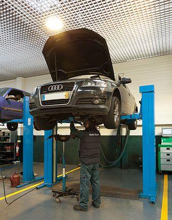 Carroçaria: Reparação geral e banco de ensaio