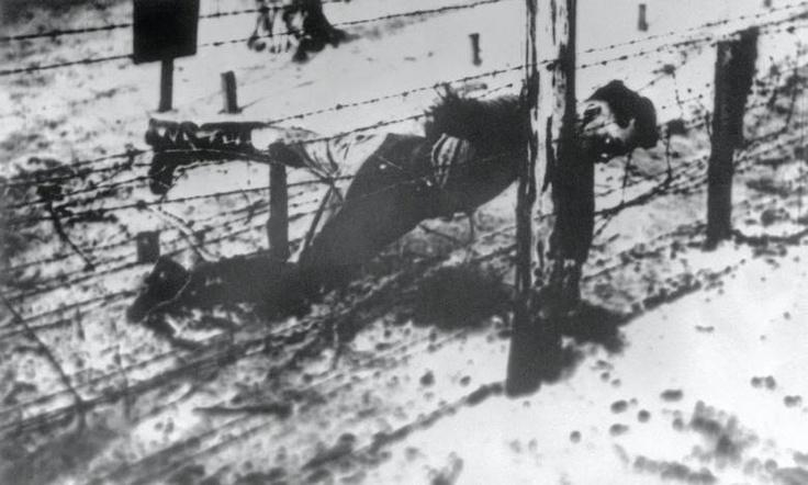 Yakov Dzjugasjvili, Stalin's oldest son.  Committed suicide in Sachsenhausen April 14, 1943