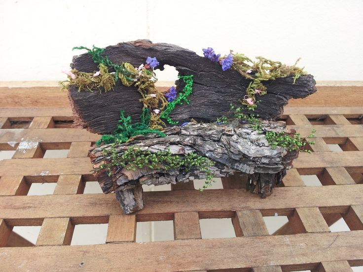 This is an Garden Chair I made for my Fairy House, when it is finished.