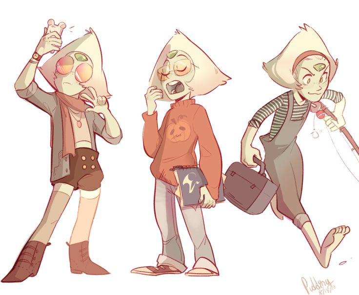 Peri looks cute in normal clothes ❤