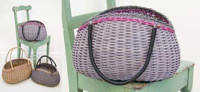 Large retro basket
