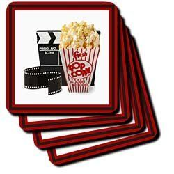 Susan Brown Designs Movie Magic Coaster, Soft, Set of 8 by Susan Brown Designs. $18.99. Dimensions: 3-1/2-inch h by 3-1/2-inch w by 1/4-inch d. Washable-to prevent image from fading clean with mild detergent using cool water. Absorbs moisture. Comes in a set of 8-same image on all coasters. Made of recycled rubber. Movie Magic Coaster is new commercial quality product that will complement your home decor. Available in 3.5-inch by 3.5-inch soft rubber-backed po...
